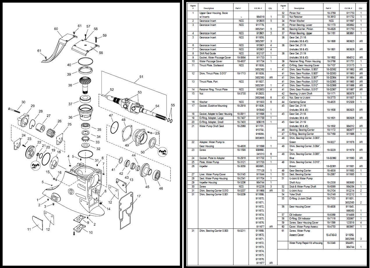 omc cobra bovenhuis incl onderdelenlijst  montage