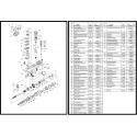 Mercruiser MR ALPHA onderhuis incl onderdelenlijst (montage)