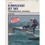 Kawasaki Jet Ski Prestatie Service Handboek